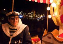 Echte Seemänner sind auf dem maritimen Weihnachtsmarkt am Rheinauhafen anzutreffen. (Foto: Joachim Rieger)