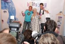 Presserummel um die drei Hairspray-Hauptdarsteller: Am 6. Dezember ist Premiere des Musicals nach dem Kultfilm von John Waters. (Foto: Helmut Löwe)