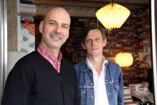 Inhaber von Hausen: Stephan Herczeg (links) und Bernd Saßmannshausen. (Foto: Sebastian A. Reichert)