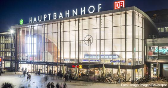 Köln Hauptbahnhof Gesperrt
