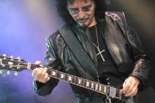Tony Iommi: Meister der tiefen Riffs und Vorbild vieler Nachwuchsmusiker. (Foto: Helmut Löwe)