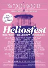 Flyer zum Heliosfest 2013