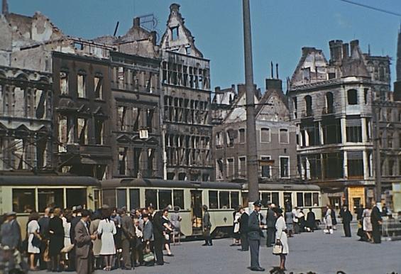 Der Heumarkt im Jahr 1944