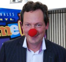 Dr. med. Eckart von Hirschhausen Bereits auf das Comedy-Festival eingestimmt (Bild: Christian Rentrop)
