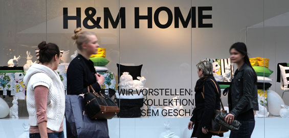 Hm Home Eröffnet Auf Der Hohe Straße Koelnde