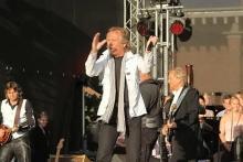 Die Höhner bei ihrem Auftritt zu den Kölner Lichtern 2011. (Foto: Burkhard Breuer)