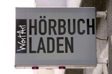 Einzigartig in Köln: eine Buchhandlung nur für Hörbücher (Foto: Sebastian Reichert)