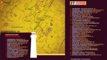 Die Hopping-Locations im Überblick.