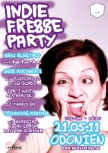 Der Flyer zur Party.