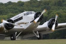 """Das Passagierflugzeug """"JU 52"""" wurde 1930 das erste mal in Kraft gesetzt (Foto: ddp)"""