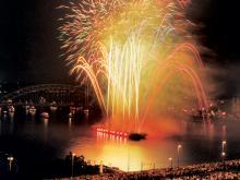 Die Kölner Lichter sind Deutschlands größtes musiksynchrones Feuerwerk. (Foto: Veranstaltungsbüro Werner Nolden)