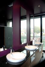 Toiletten mit Rhein-Blick (Foto:Julia Schmitz)