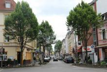Die Keupstraße in Mülheim. Foto: Jürgen Schön