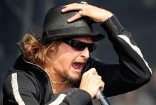 Kid Rock bei Rock am Ring im Jahre 2008: Sein neues Album stellt der Musiker auf einem Exklusivkonzert in Köln vor. (Foto: ddp)