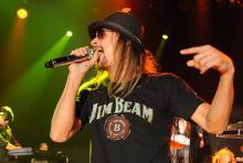 Kid Rock: versuchte sich auch ohne Pappnaas an kölschen Klängen. (Foto: Helmut Löwe)