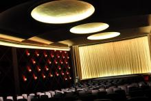 Blick in einen Kinosaal der Astor Filmlounge in Köln. (Foto: Helmut Löwe)