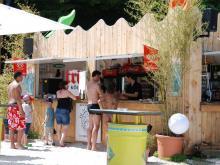 Kühle Getränke gibt's am Kiosk. (Foto: Izabela Koza)