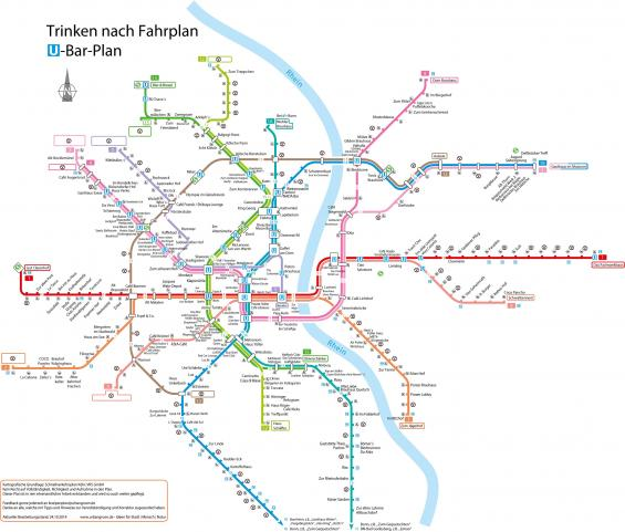 Trinken Nach Fahrplan U Bar Plan Köln Koelnde