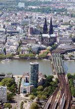 "Kölns Denkmäler fotografieren - bei der Aktion ""Wiki loves Monuments"" (Foto: www.aerophoto.de)"