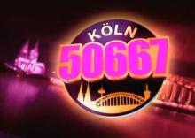 """Der Einspieler von """"Köln 50667"""" zeigt die Domstadt in pink. (Screenshot: RTL Now)"""