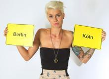 """Meike wechselt von """"Berlin - Tag & Nacht"""" zu """"Köln 50667"""". Ein fliegender """"Soap-Wechsel"""" sozusagen."""