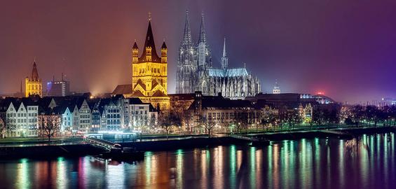 Beleuchtung Kölner Dom | Kolner Altstadt Zwei Nachte Lang Beleuchtet Koeln De