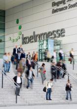 Hier in der Koelnmesse startet am 29. Mai die RheinSchau.