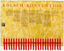 Die Kölsch-Konvention  aus dem Jahr 1986 legt fest, dass nur Bier aus Köln und seiner näheren Umgebung als Kölsch bezeichnet werden darf.