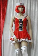 Rot, weiß und sexy, damit ist man im kölschen Fasteleer immer im Trend. (Foto: Helmut Löwe)