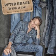 """""""Für immer in Jeans"""" heißt das neue Album von Peter Kraus, welches er in Köln vorstellen wird. (Foto: Semel Concerts)"""