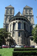 Ostseite von St. Kunibert (Foto: Marie Neuhalfen)