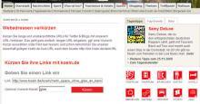 Der koeln.de Kurz-URL-Dienst Problemlos lange Webadressen kürzen