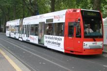 KVB-Straßenbahn Schmutzig, Unpünktlich, Unzuverlässig? (Foto: KVB)