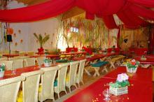 Der Krewelshof richtet von Kommunion bis Hochzeit private Feiern aus.