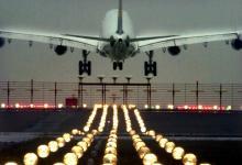 Alle Maschinen auf Leerlauf: Künftiges Standard-Landeverfahren nachts am Flughafen Köln/Bonn(Foto: ddp)
