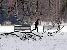 Der Winter schreckt nicht alle Läufer ab: Fit machen für den Neujahrslauf am 8. Januar.