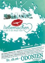 Der Flyer zur Party (myspace.com/ wirbittenzumexzess)