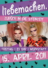 Der Flyer zur Party. (Quelle: www.facebook.com/ liebemachen)