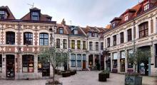 "Die ""Place aux oignons"" in Lille Foto: Velvet/Wikimedia Commons)"