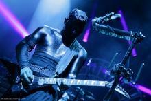 Wes Borland: Außerirdischer oder Gitarrist? (Foto: Helmut Löwe)