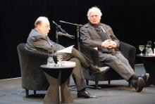 Martin Walser bei der lit.COLOGNE (Foto: Julia Schmitz)