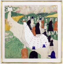 Kasimir Malewitsch Die Hochzeit, 1903 (Foto:Sammlung Ludwig)