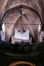 Orgelanlage in Lyskirchen (Foto: Marie Neuhalfen)