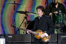 Einziges Deutschland-Konzert in Köln: Paul McCartney Foto: dapd