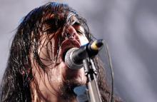 Machine Head-Sänger Robert Flynn Thrash-Metal im Karneval (Bild: ddp)