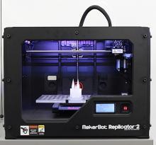 MakerBot Replicator 2: Der 3D-Drucker für jedermann (Foto: Christian Rentrop