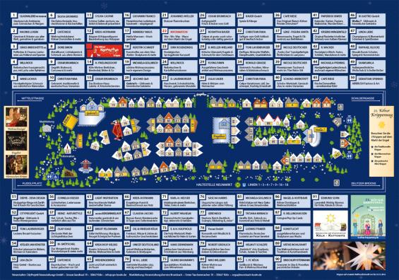 Lageplan Markt der Engel 2016