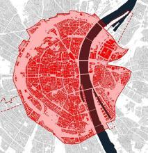 Moderne Stadtentwicklung: Das Gebiet des Masterplans in Köln