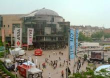 Kölns größter Kinokomplex sowie Medienunternehmen haben sich im Mediapark niedergelassen. (Foto: Bilderbuch Köln)