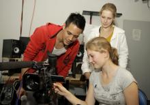 Impressionen vom medienfest.NRW: In Workshops bekommen Teilnehmer erste Praxiserfahrungen. (Foto: Markus Nass)